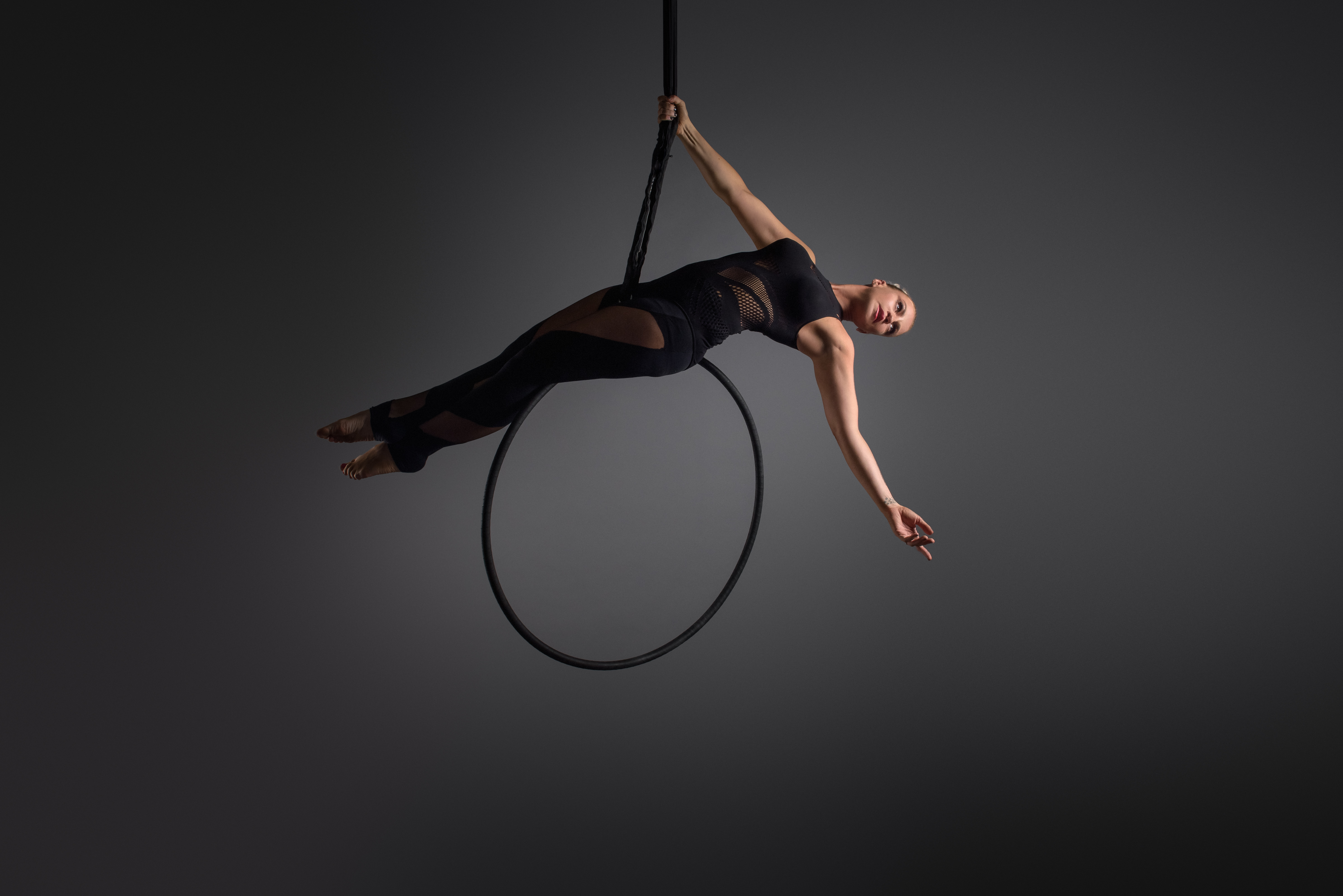 Aerial Hoop Pole Perfect Fitness